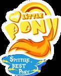 Fanart - MLP. My Little Pony Logo - Spitfire by jamescorck