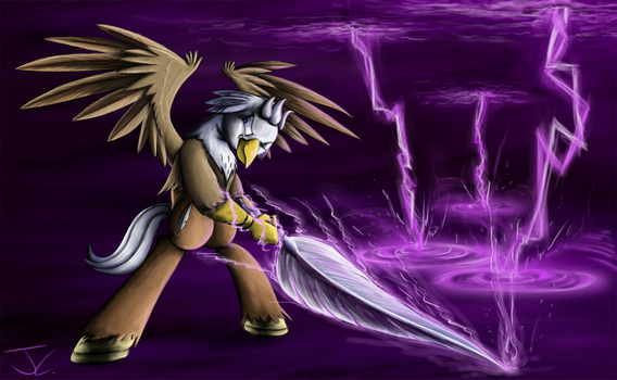 Fanart - MLP. The Quill is Stronger