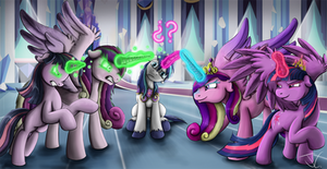 Fanart - MLP. This is so confusing