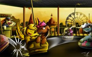 Fanart - MLP. Ticket's Fun Time by jamescorck