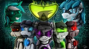 Fanart - MLP. Ask Robot Octavia