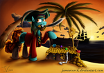 Fanart - MLP. Nessie the Pirate.
