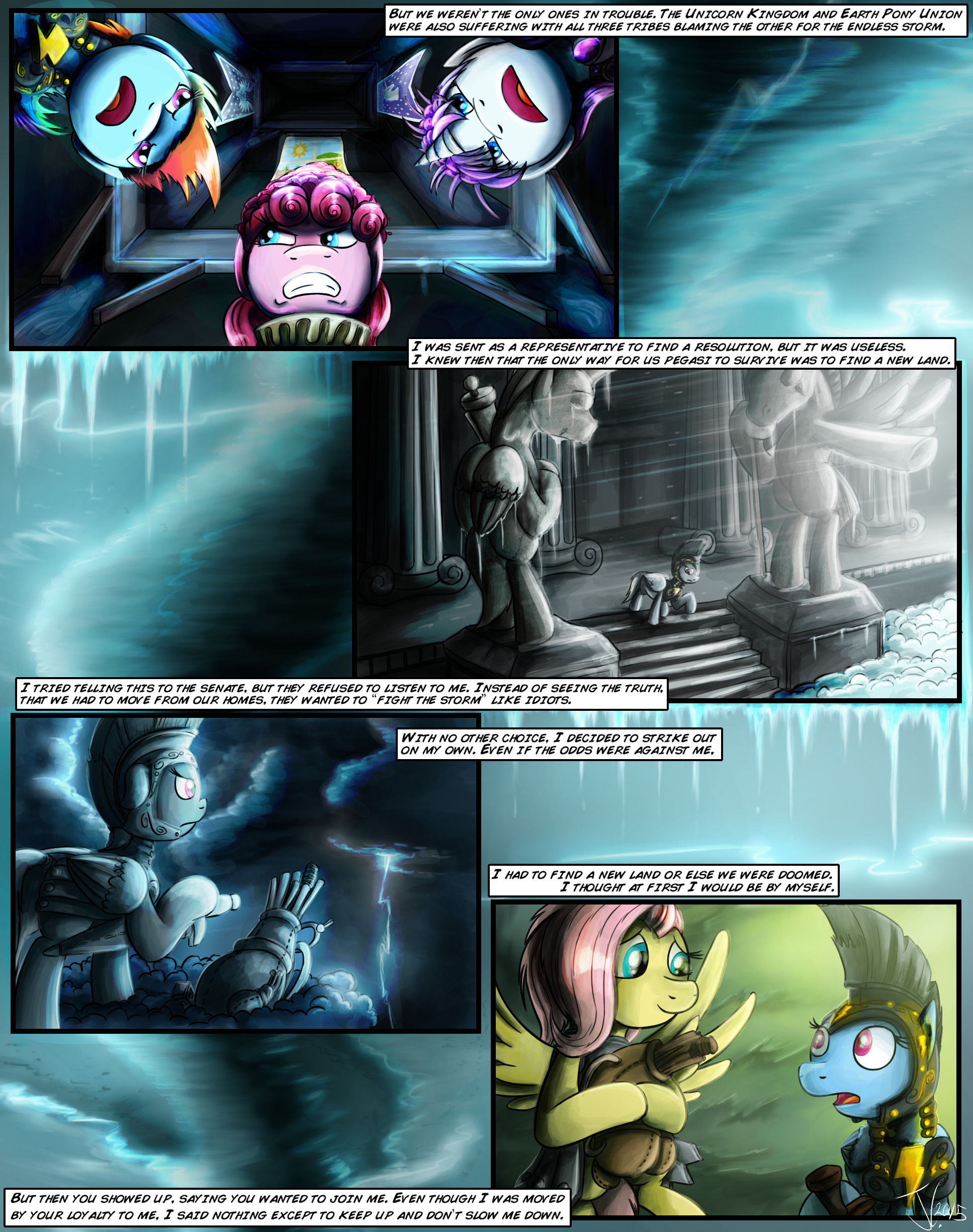 I Will Never Leave You - Page 10