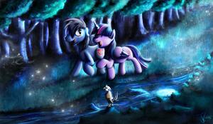 Fanart - MLP. Moonlight Magic