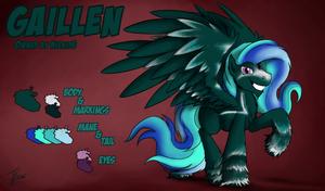 Fanart - MLP. Gaillen's Character Sheet