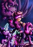 Fanart - MLP. Spike Unicorn
