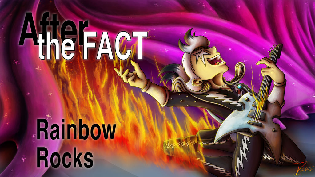 After the Fact - Rainbow Rocks, Title Card