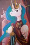 Fanart - MLP. Queen Celestia