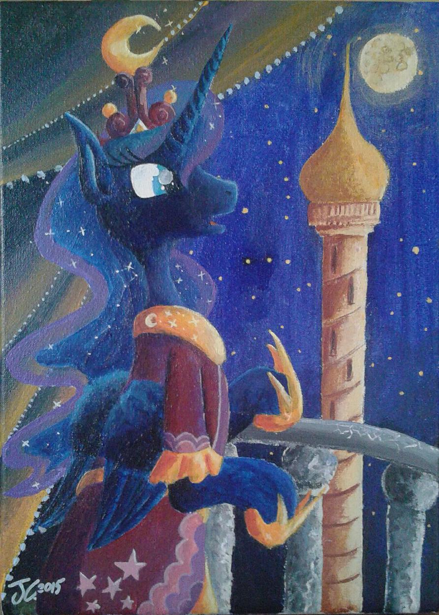 Fanart - MLP. Lunar Princess