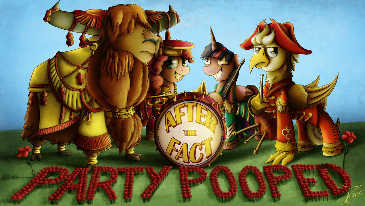 After the Fact - Party Pooped, Title Card