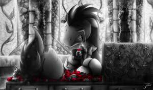 Fanart - MLP. Sanguine Kindness. Illustration 7