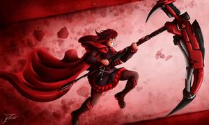 Fanart - Ruby from RWBY