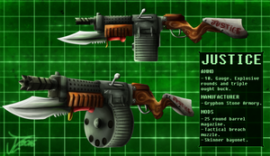Commission. Andreas' Weaponry (JUSTICE)