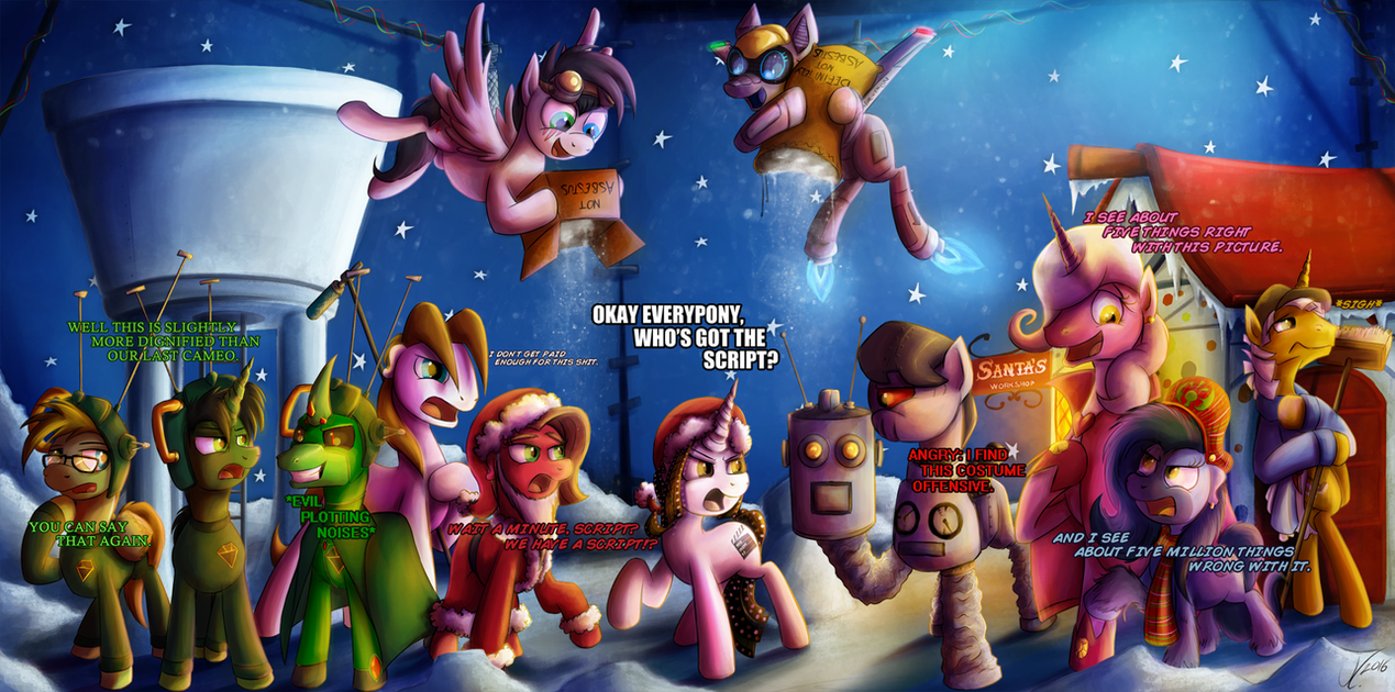 Movie Slate - Santa Claus Conquers the Martians by jamescorck