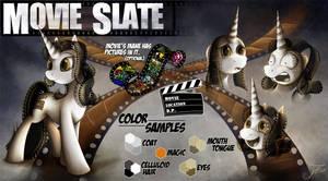 Ask Movie Slate - Reference Sheet (New) by jamescorck