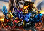 Fanart - MLP. Death Watch Kill Team by jamescorck