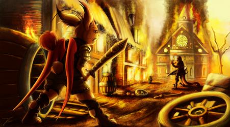 Artwork - A Duel of Remorse