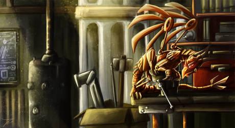 Fanart - Rusty Dragon by jamescorck