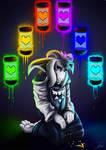 Artwork - God of HyperDeath by jamescorck