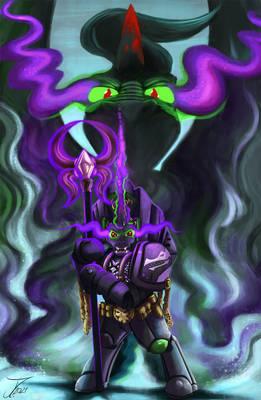 Fanart - MLP. The Black Dragon