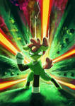 Fanart - MLP. Green Crusader