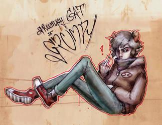 Grumpycat by Tattoo-Experience