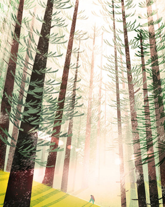 Forest by ducksofrubber