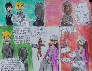 Self-Aware Dystopian Heroine #11 by Silencedbook9