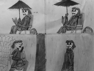 Daily Life of An Amateur Skeleton Writer #15 by Silencedbook9