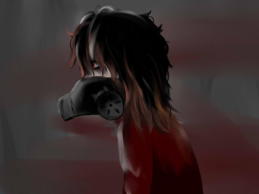A mask to filter the dark by Sleepinginwonderland