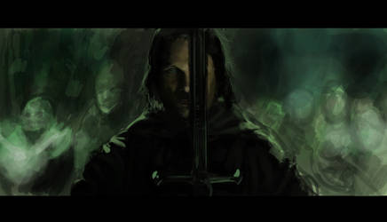 Aragorn study by the-sketchman