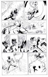 spiderman page2 by the-sketchman