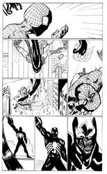 spiderman page3 by the-sketchman