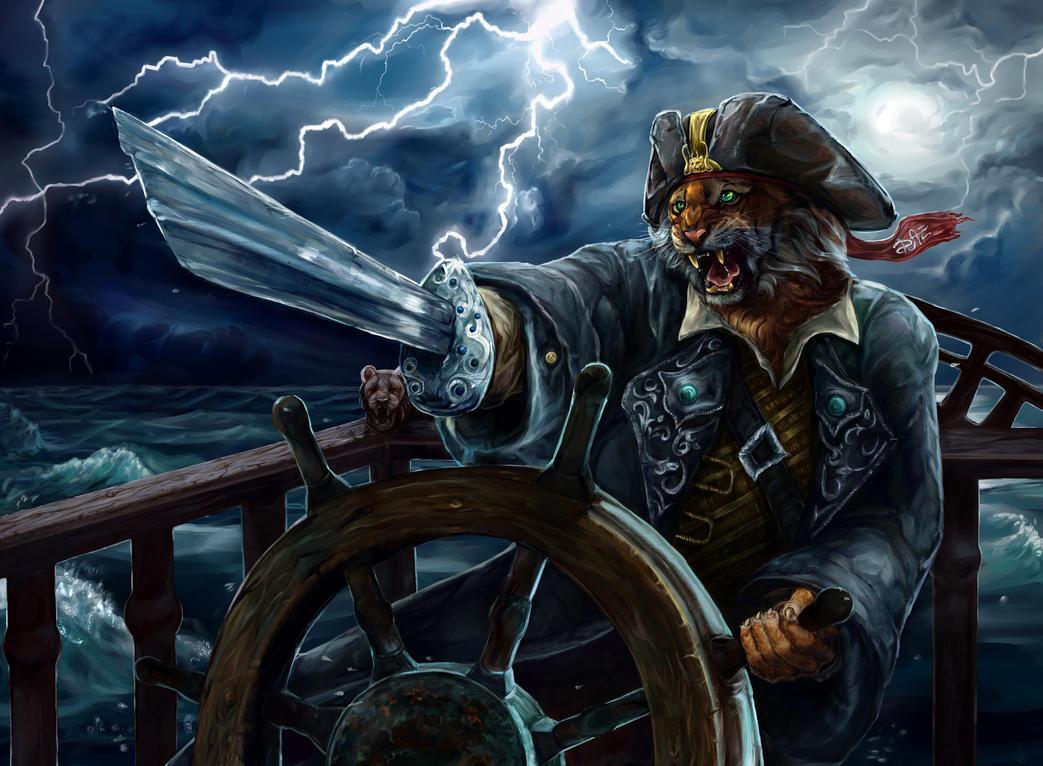 captain mr tiger for drawinganimalz in vk