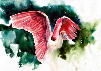 watercolor by LomovtsevaOlga