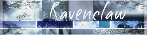 Ravenclaw Banner by inmyownsanity
