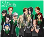 Hogwarts AU:Slytherin