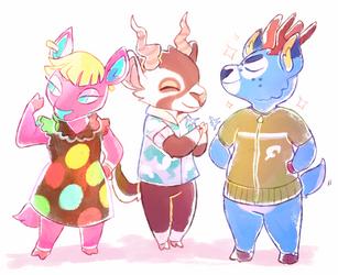 Deer villagers