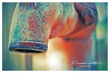 Antique Water Pump