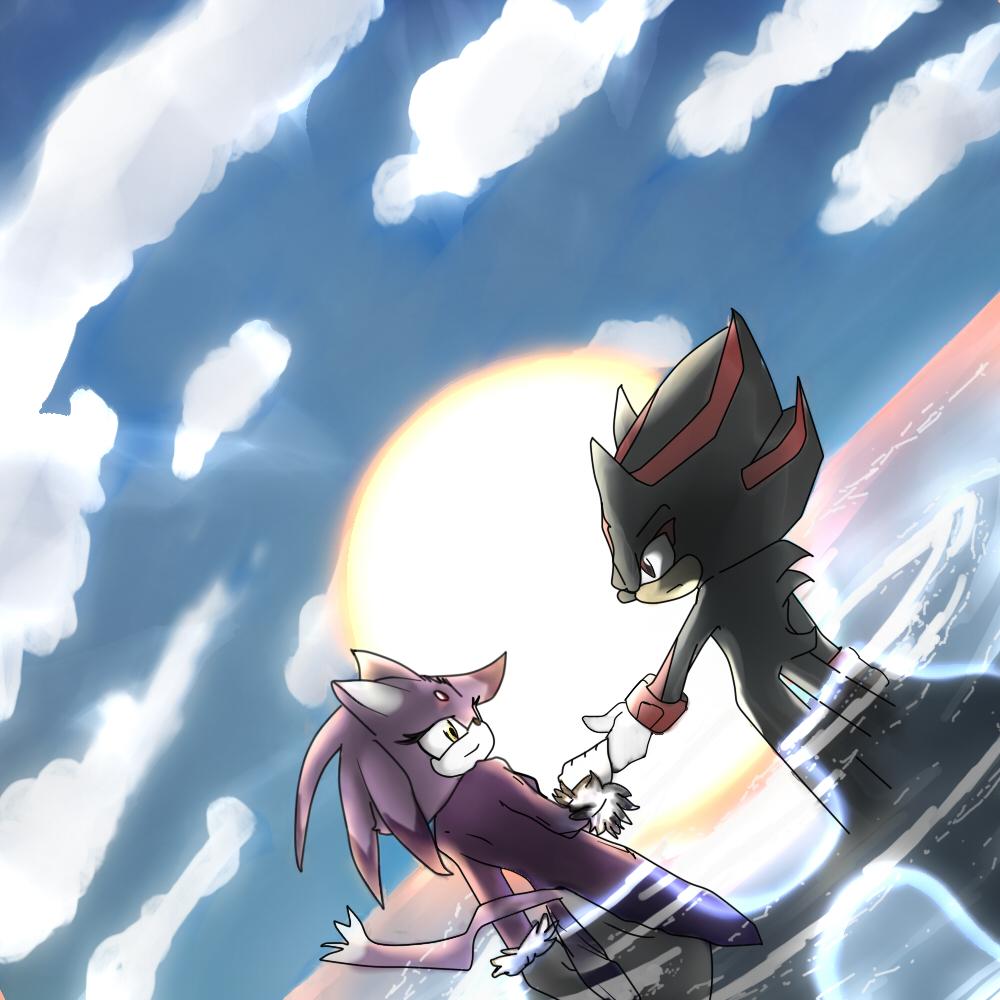 Shadow and Blaze 4 by Deimonday