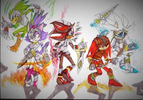 Knights by Deimonday