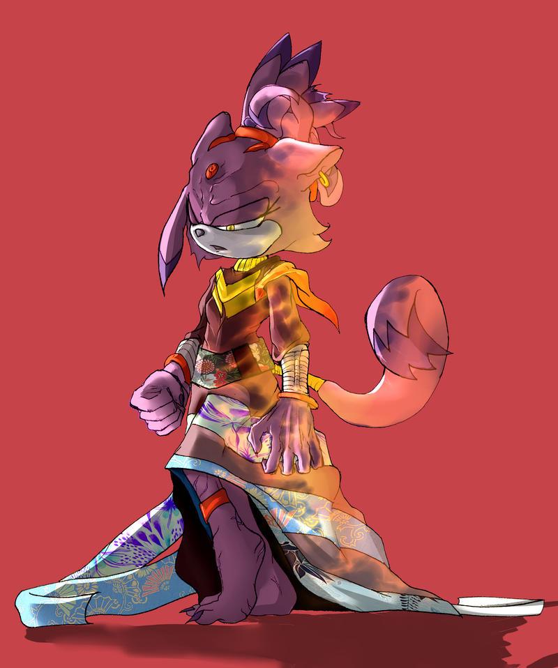 Princess Blaze by Deimonday