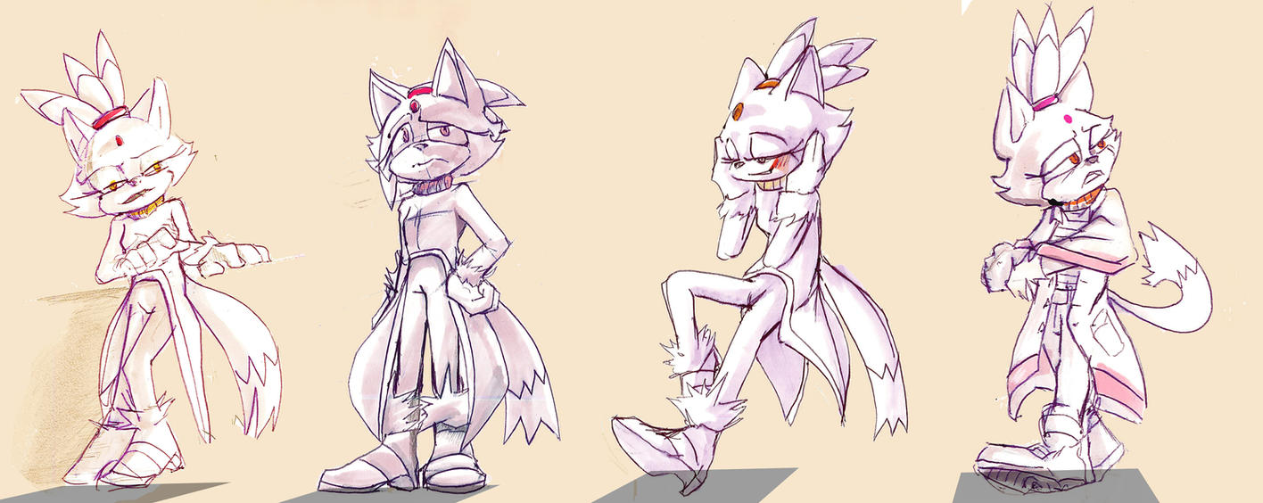 Blaze - Some Stances by Deimonday
