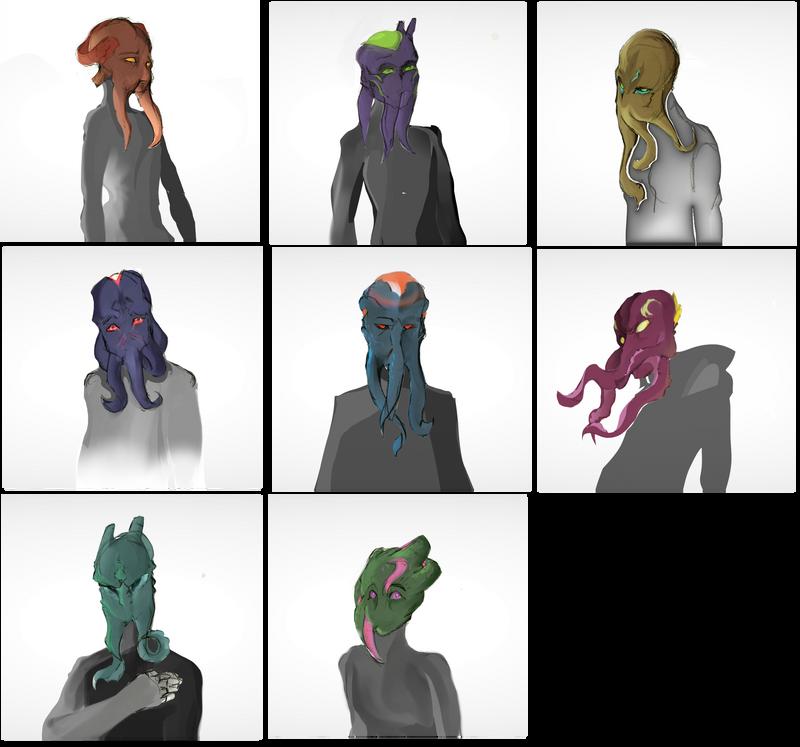 Illithild - Faces by Deimonday