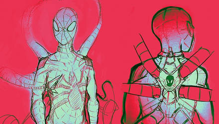 Spidersona sketches