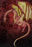 Red Gold Dragon Edited