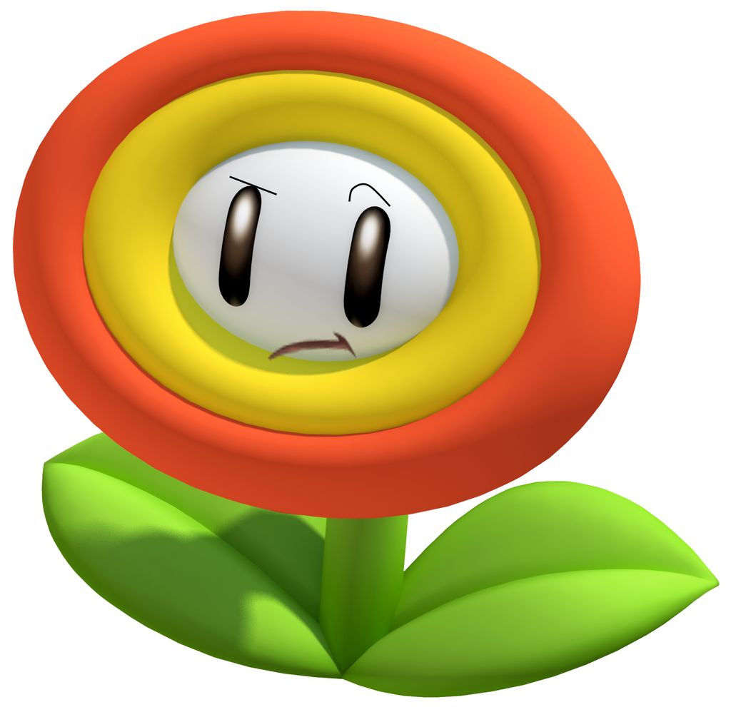 Super mario fire flower coloring pages - Frezy The Fire Flower By Nanabusia63 Frezy The Fire Flower By Nanabusia63