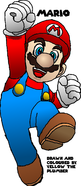 Mario Drawing by nanabusia63 ...