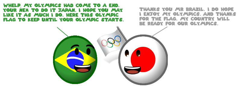 Countryball: The end of Rio 2016 olympics by nanabusia63