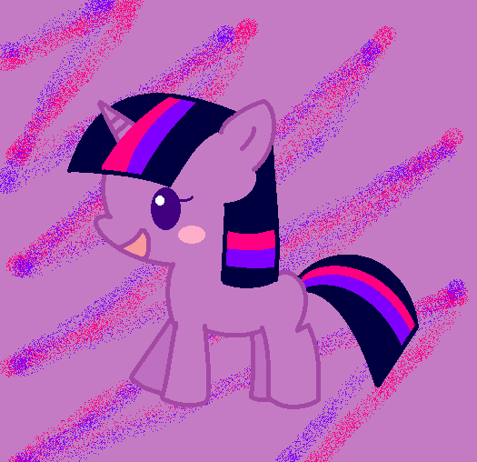 filly chibi twilight by jesh02